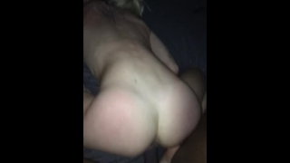 Blonde College Teen Gets Dominated by BBC From Behind! (Part 2)