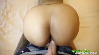Tuk Tuk Patrol – Petite Thai with big tits gets creampied by BWC