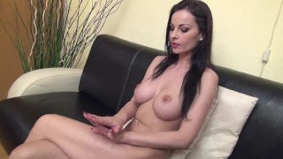 ABBIE CAT – 'Nude At Home' – Hand Worship and Domination
